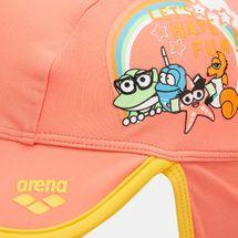قبعة السباحة ووتر ترايب من ارينا للاطفال الرضّع - برتقالي, 1716301