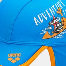 Arena Kids' Water Tribe Cap (Baby and Toddler) - Blue, 1716295