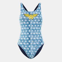 Arena Women's Wonder Women Stars One Piece Swimsuit