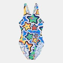 Arena Kids' Frolic Tech Back One Piece Swimsuit