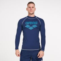 Arena Men's Long Sleeves Rashguard Top