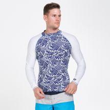 Arena Men's Long Sleeve Rashguard Top