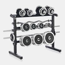 Kettler Dumbbell and Barbell Rack