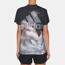 adidas Boyfriend AOP T-Shirt, 170429