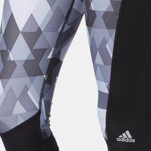 adidas TechFit™  CAP GLO TRI Capri Leggings - Black, 170647