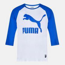 PUMA Archive Logo Raglan T-Shirt, 179254