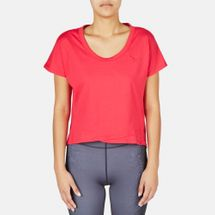 PUMA Sweat Tee Top  - Red, 179306