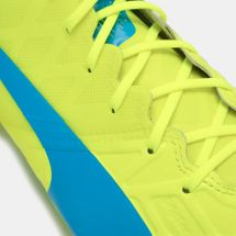 PUMA evoSPEED 1.4 Firm Ground Football Shoe - Yellow, 191784