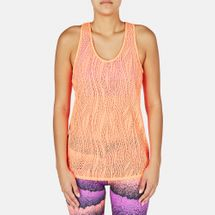 PUMA Mesh It Up Layer Tank Top - Orange, 179051
