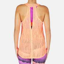 PUMA Mesh It Up Layer Tank Top - Orange, 179053