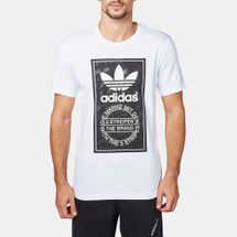 adidas Snow Camo Tongue Label T-Shirt White