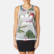 adidas Train Floral Tank Top Multi