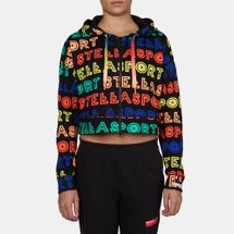 adidas STELLASPORT Collection All Over Print Full Zip Hoodie, 214201