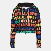adidas STELLASPORT Collection All Over Print Full Zip Hoodie, 214204