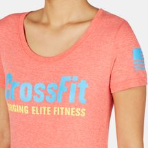Reebok CrossFit Graphic Forging Elite Fitness Crew T-Shirt, 163367