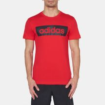 adidas Linear T-Shirt Red