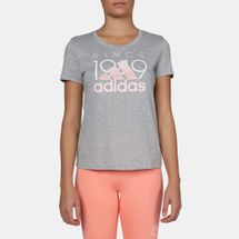 adidas 1949 Logo T-Shirt Grey