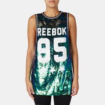 Reebok LTHS Dance Sequins Tank Top, 162914