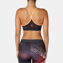Reebok One Series AOP Strappy Sports Bra, 162968
