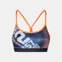 Reebok One Series AOP Strappy Sports Bra, 162970
