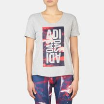 adidas Sports Warehouse Lineage T-Shirt, 350191