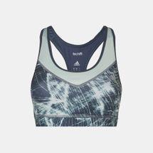 adidas Techfit® Printed Sports Bra, 350107