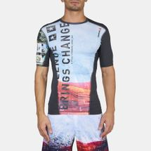 Reebok One Series Activchill Sublimated Compression T-Shirt, 360187