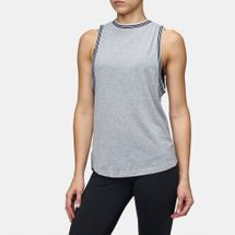 adidas Atletics Ringer Tank Top Grey