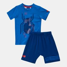 adidas Kids' Marvel Spider-Man Summer Set (Infant)