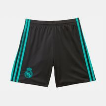 adidas Kids' Real Madrid Away Replica Football Shorts
