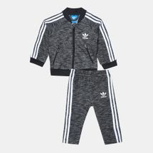 adidas Originals Kids' SST Track Suit Black