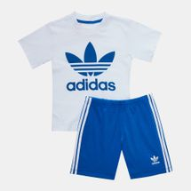 adidas Originals Kids' Shorts and T-Shirt Set