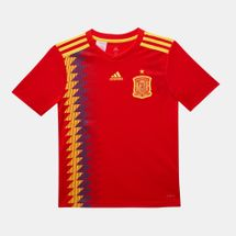 adidas Kids' Spain Home Replica Jersey