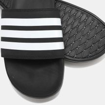 Adilette Cloudfoam Plus Stripes Slides, 1299144