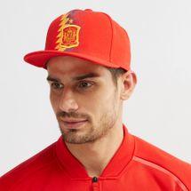 قبعة منتخب اسبانيا بمقدمة مسطحة من اديداس
