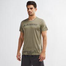 adidas Response Printed Running T-Shirt
