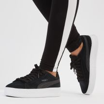PUMA Smash Platform Shoe Black