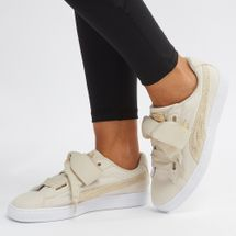 PUMA Basket Heart Canvas Shoe
