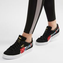 PUMA Suede Classic Embroidered Shoe