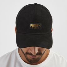 PUMA Suede Cap - Black, 1249764