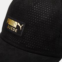 PUMA Suede Cap - Black, 1249765