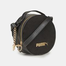 PUMA Prime Time Round Sling Bag - Black, 1296454