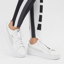 PUMA Smash Platform Shoe White