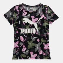 PUMA Kids' Allover Print Graphic T-Shirt
