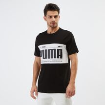 PUMA Graphic Logo Block T-Shirt