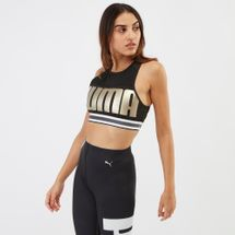PUMA Defy Metallic Sports Bra