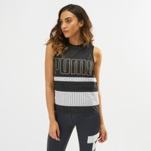 PUMA Varsity Coverup Sleeveless Top