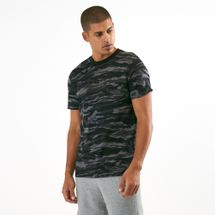 PUMA Men's AOP T-Shirt Black