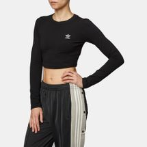 adidas Originals Styling Complements Cropped Long Sleeve T-Shirt
