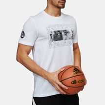adidas Rose Logo Basketball T-Shirt